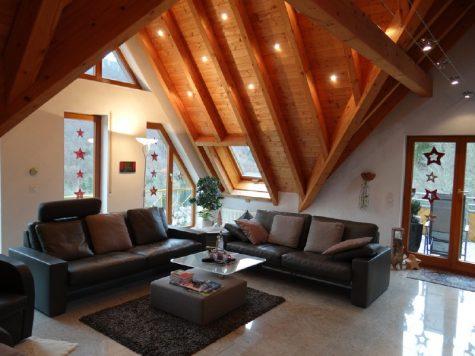"""""""Großzügige Wohnung mit Weitblick im Grünen von Geislingen/Steige"""", 73312 Geislingen, Dachgeschosswohnung"""